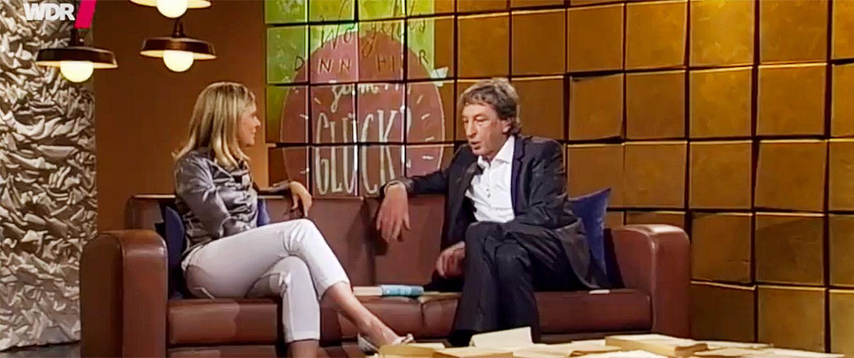 Maike van den Boom, Studio, TV, WDR, West Art Talk, Talkshow, Rednerin, Keynote