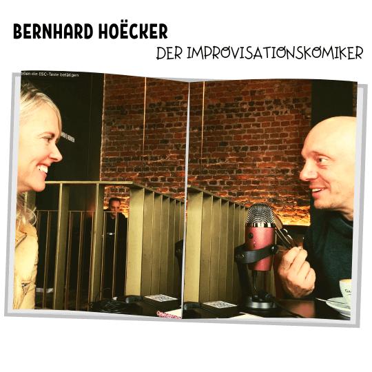 Foto mit Bernhard Hoecker